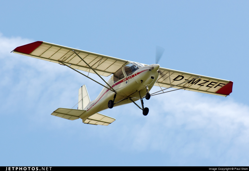 Photo of D-MZEF Ikarus C-42B Cyclone by Paul Stam