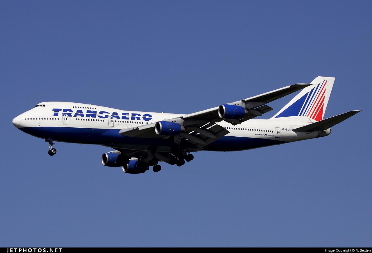 Photo of VP-BQC Boeing 747-219B by R. Bexten