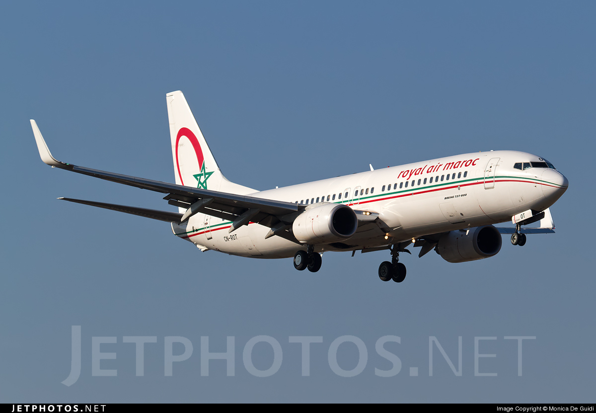 Photo of CN-ROT Boeing 737-8B6 by Monica De Guidi
