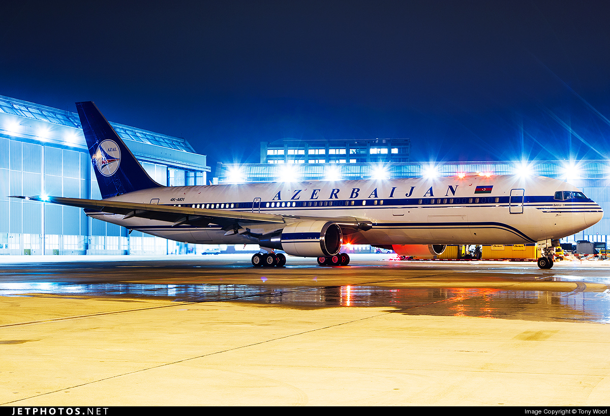 Photo of 4K-AI01 Boeing 767-32L(ER) by Tony Woof