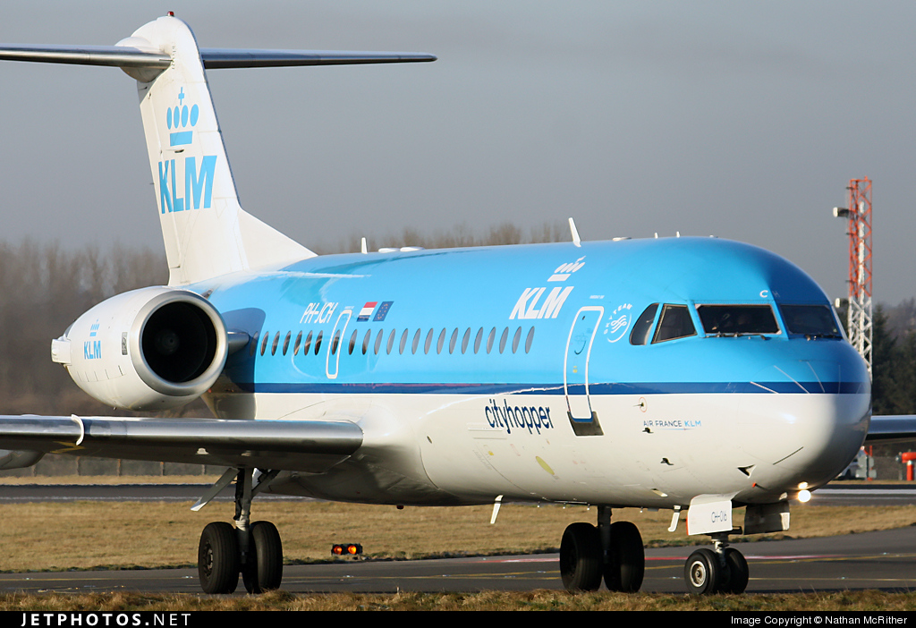 Photo of PH-JCH Fokker 70 by Nathan McRither