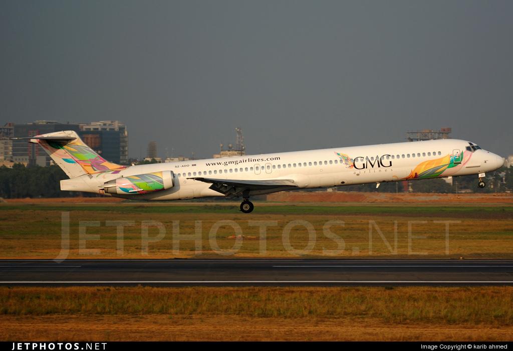 Photo of S2-ADO McDonnell Douglas MD-82 by karib ahmed