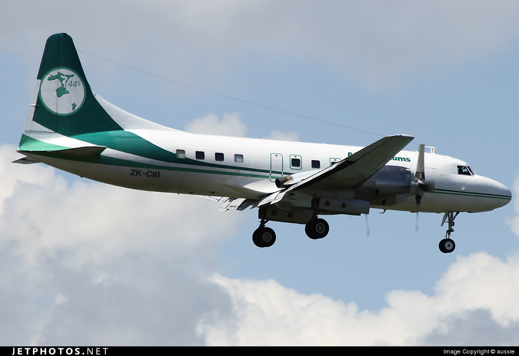 Photo of ZK-CIB Convair CV-580 by aussie