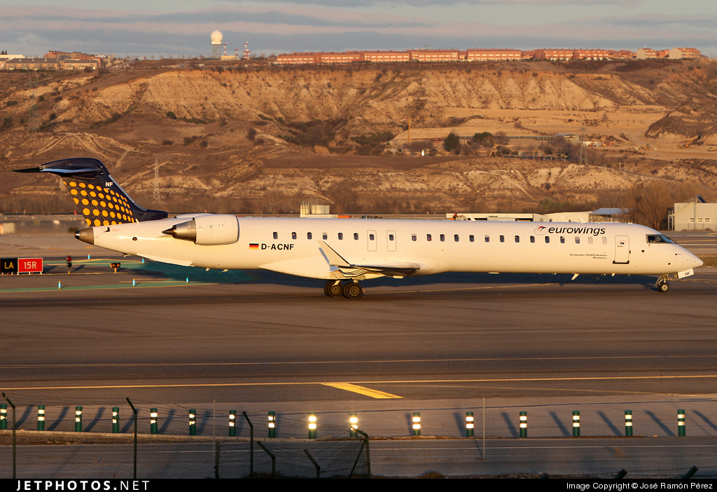 Photo of D-ACNF Bombardier CRJ-900 by José Ramón Pérez