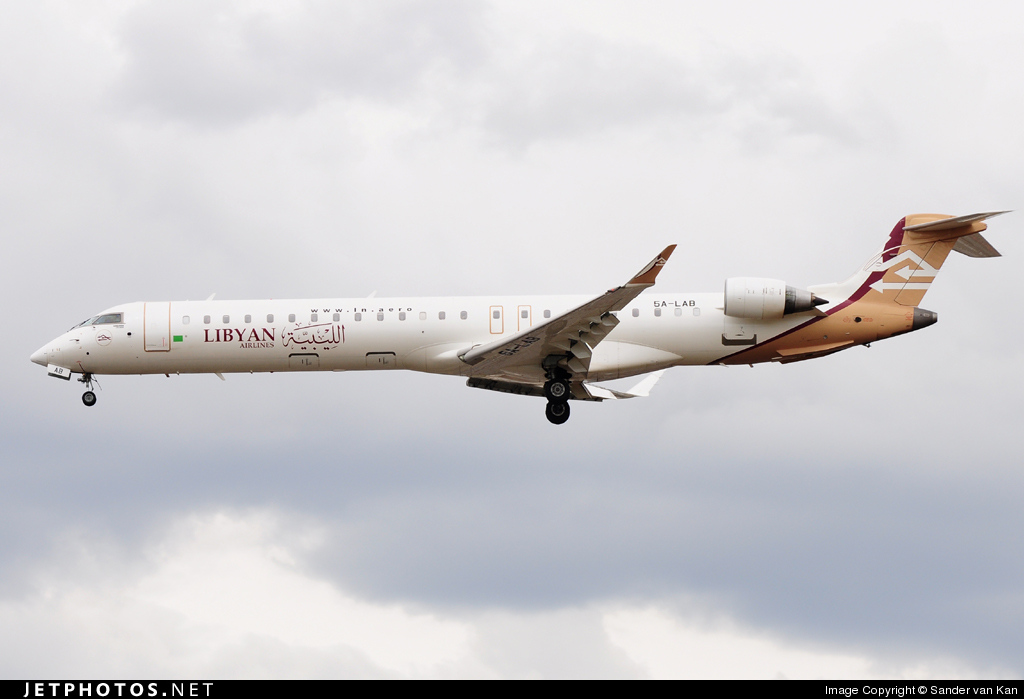 Photo of 5A-LAB Bombardier CRJ-900ER by Sander van Kan