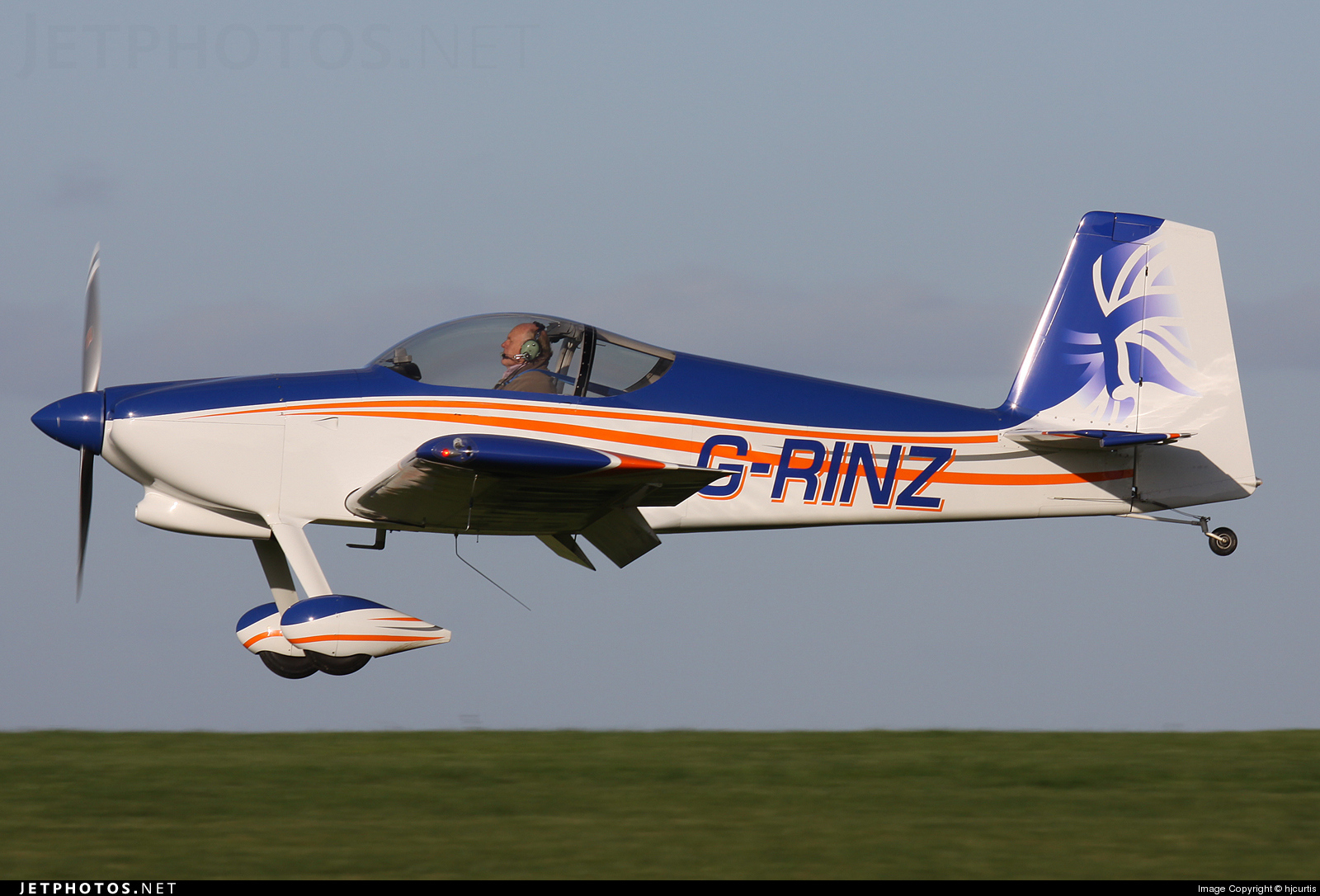 Photo of G-RINZ Vans RV-7 by hjcurtis