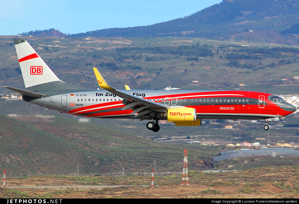 Photo of D-ATUC Boeing 737-8K5 by Luciano Fumero(freedoom spotter)