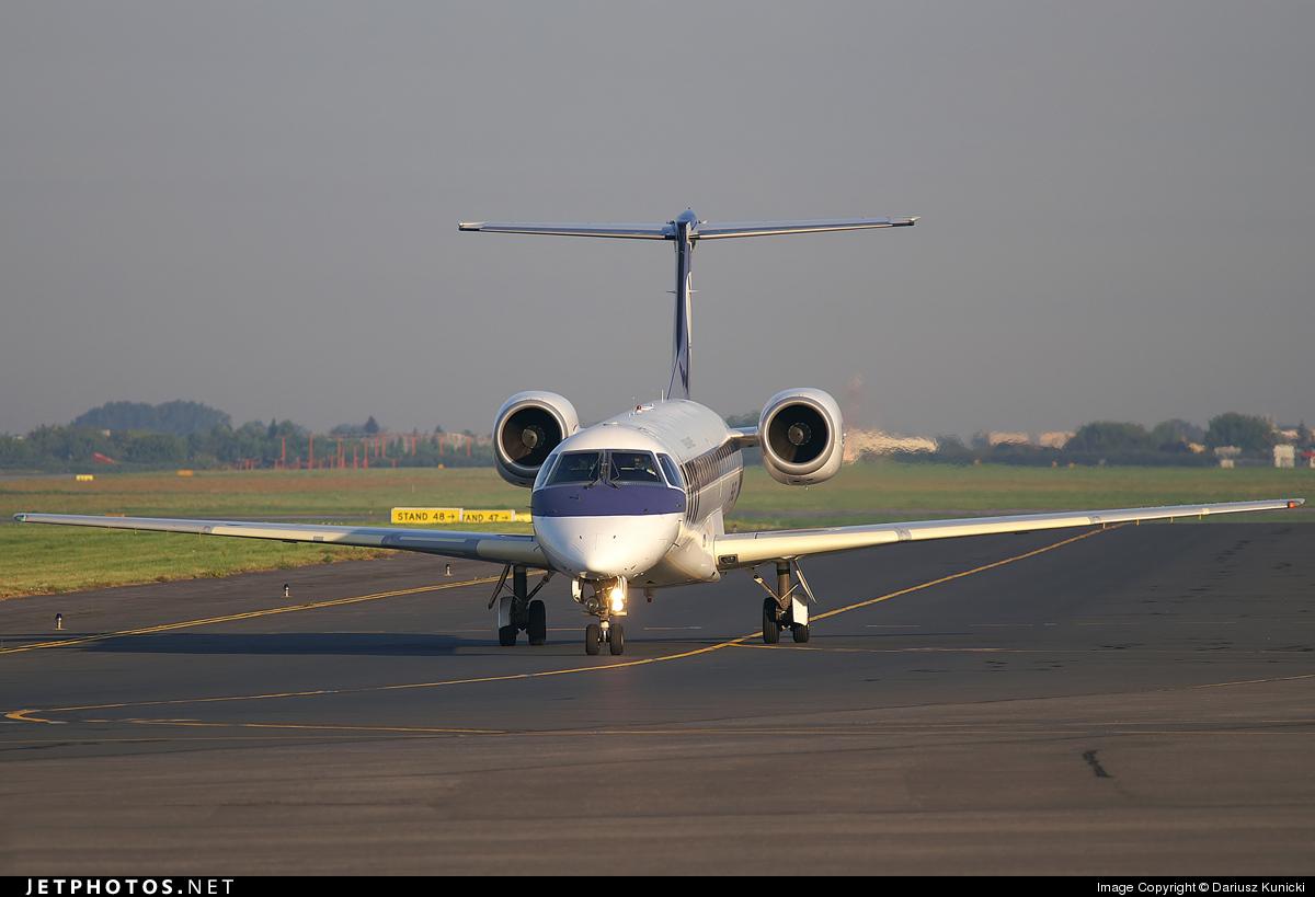 Photo of SP-LGE Embraer ERJ-145LR by Dariusz Kunicki