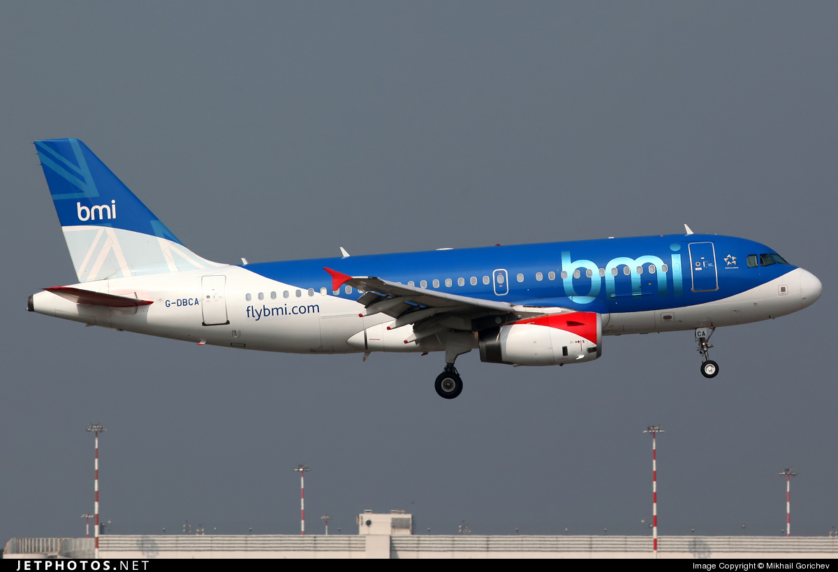 Photo of G-DBCA Airbus A319-131 by Mikhail Gorichev
