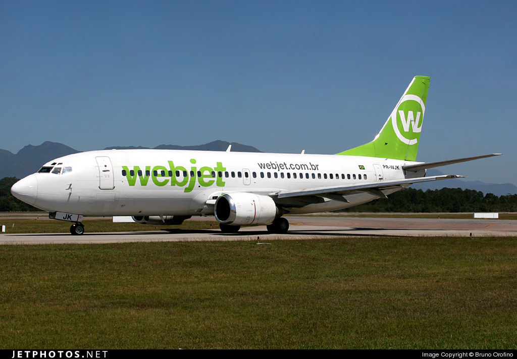 Photo of PR-WJK Boeing 737-33A by Bruno Orofino
