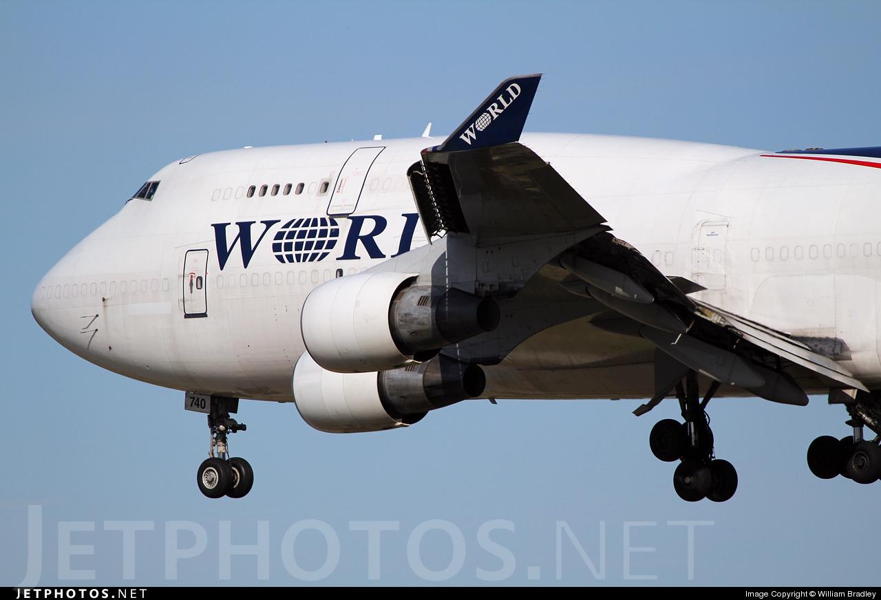 Photo of N740WA Boeing 747-4H6(BDSF) by William Bradley