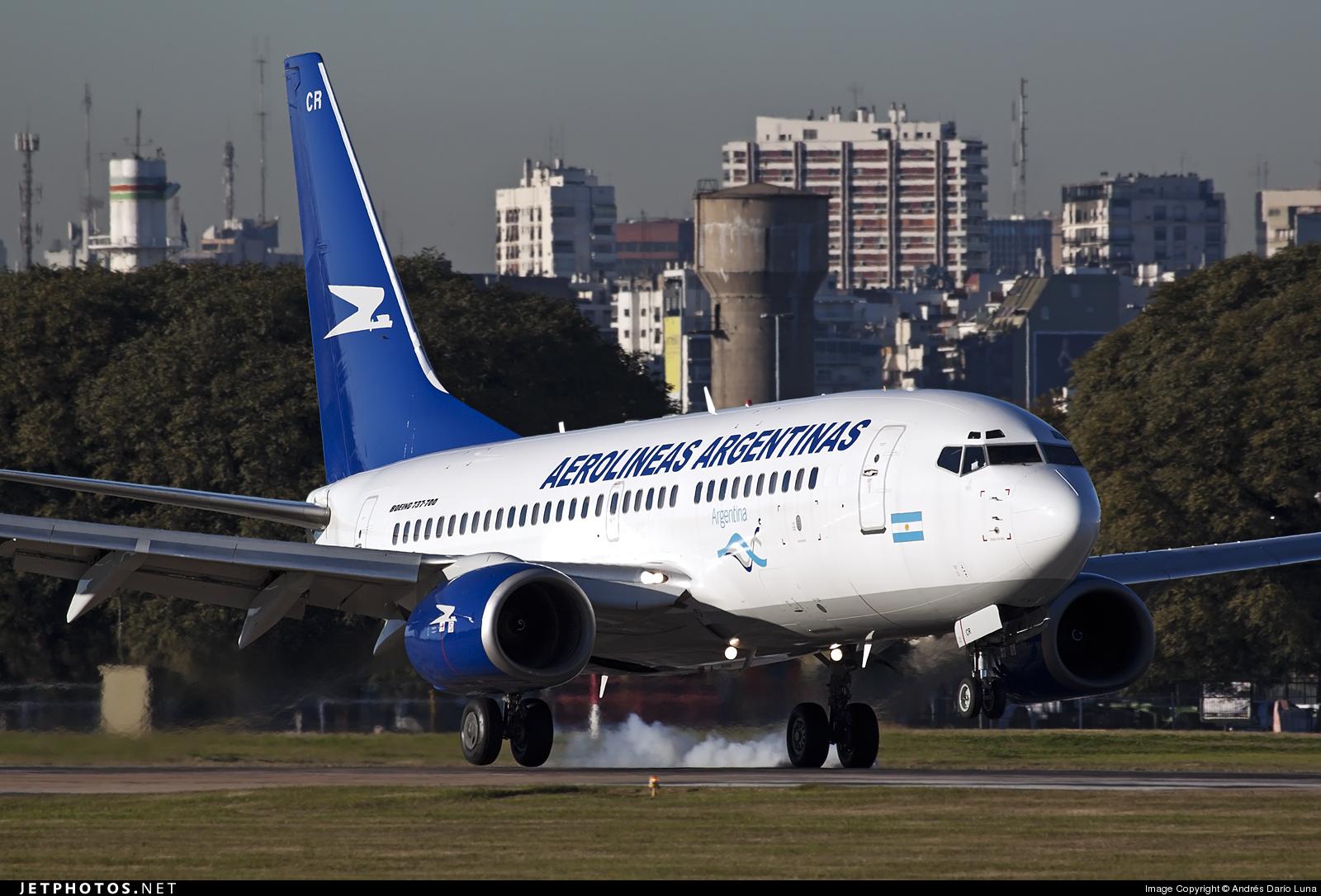 Photo of LV-CCR Boeing 737-73V by Andrés Darío Luna