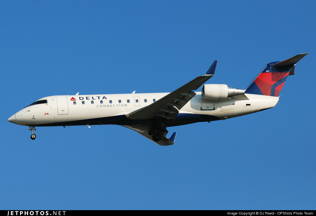 Photo of N851AS Bombardier CRJ-200ER by DJ Reed - OPShots Photo Team