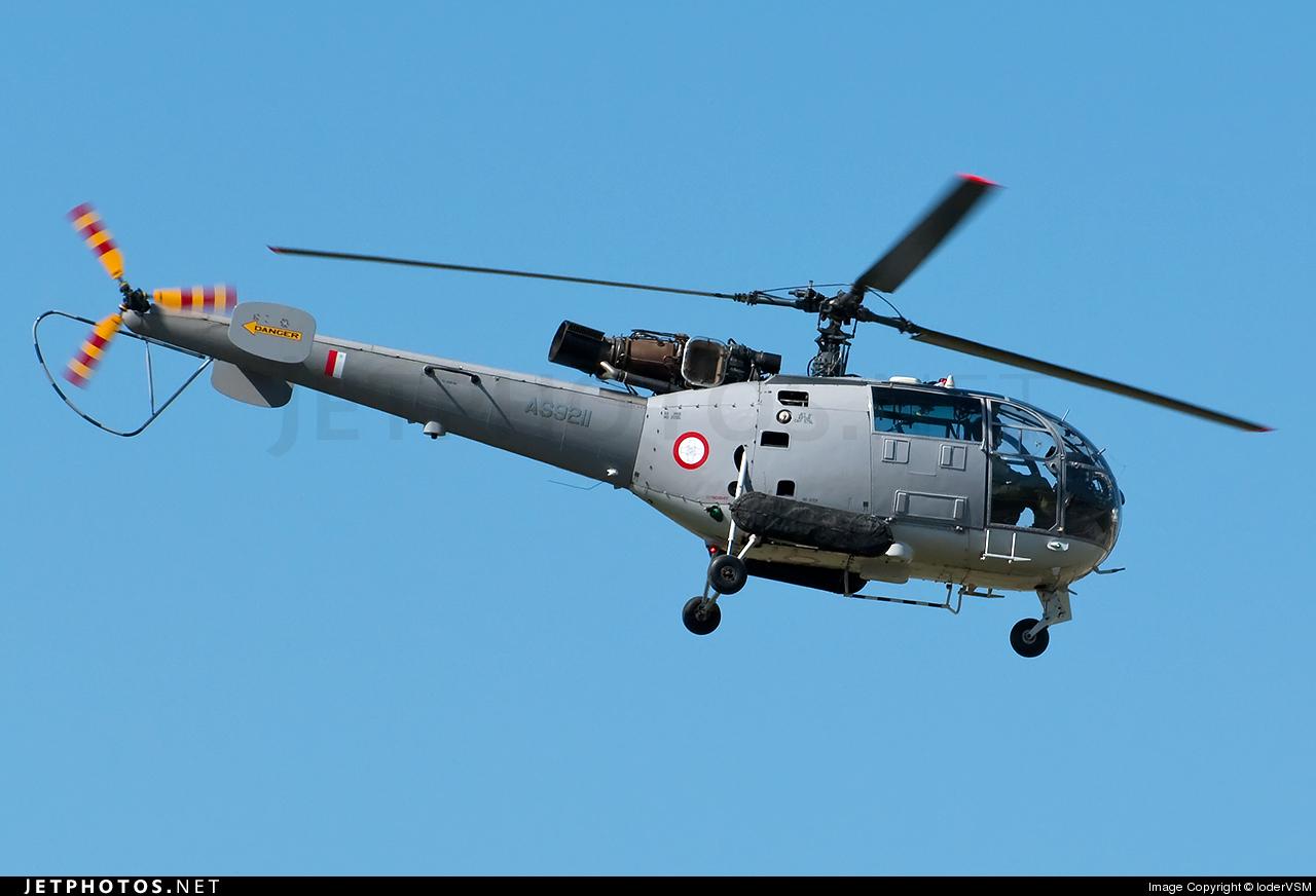 Photo of AS9211 Aérospatiale SA 316B Alouette III by loderVSM