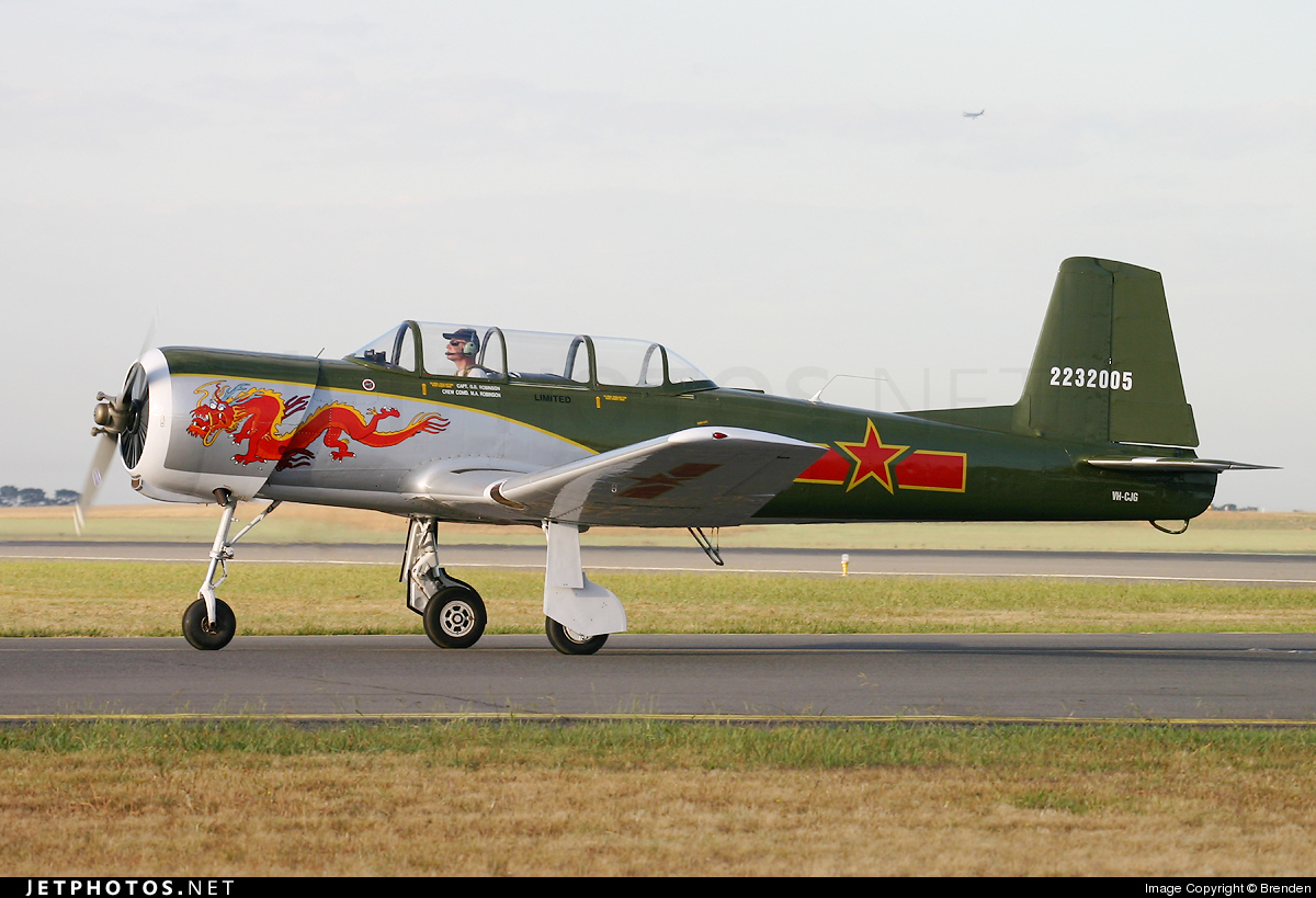 Photo of VH-CJG Nanchang CJ-6A by Brenden