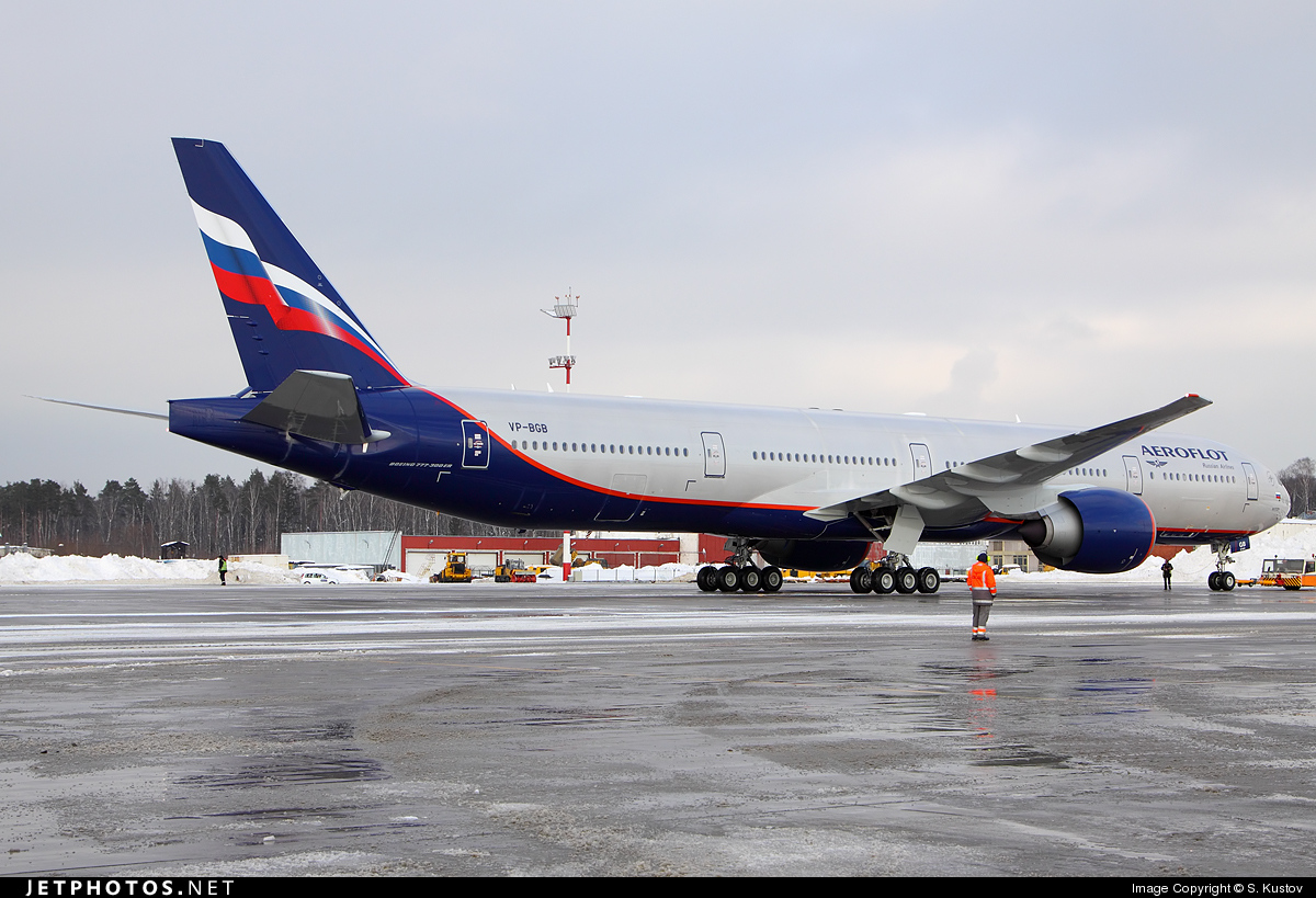 Photo of VP-BGB Boeing 777-3M0ER by S. Kustov