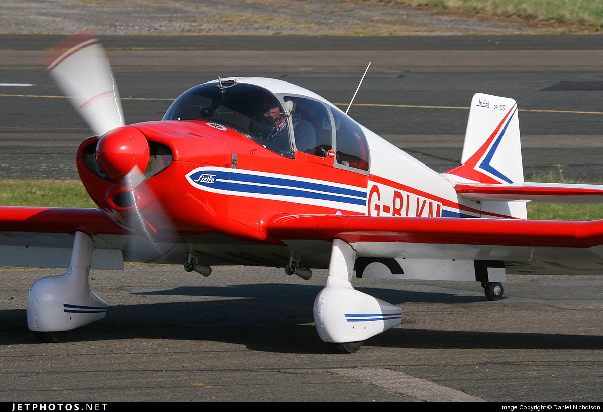 Photo of G-BLKM Jodel DR1051 Ambassadeur by Daniel Nicholson