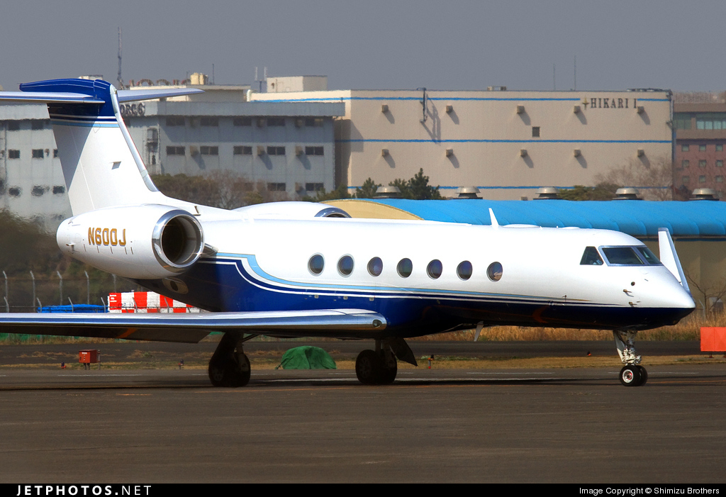 Photo of N600J Gulfstream G550 by Shimizu Brothers