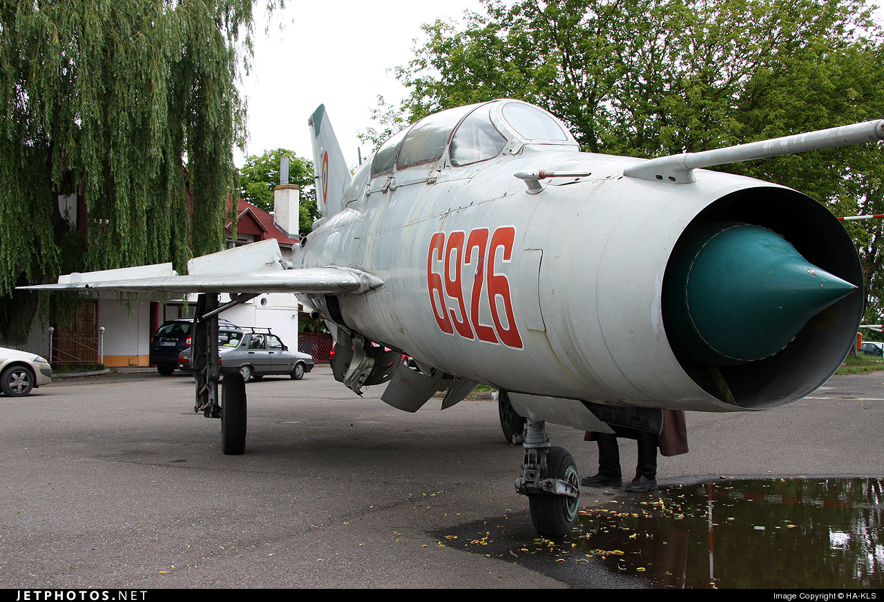 Photo of 6926 Mikoyan-Gurevich MiG-21UM Mongol B by HA-KLS