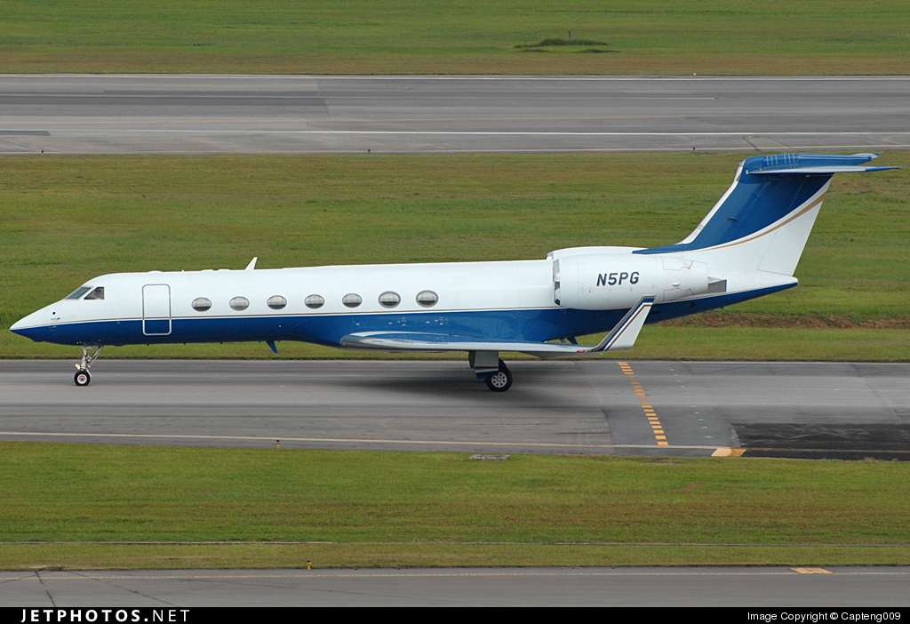 Photo of N5PG Gulfstream G550 by Capteng009
