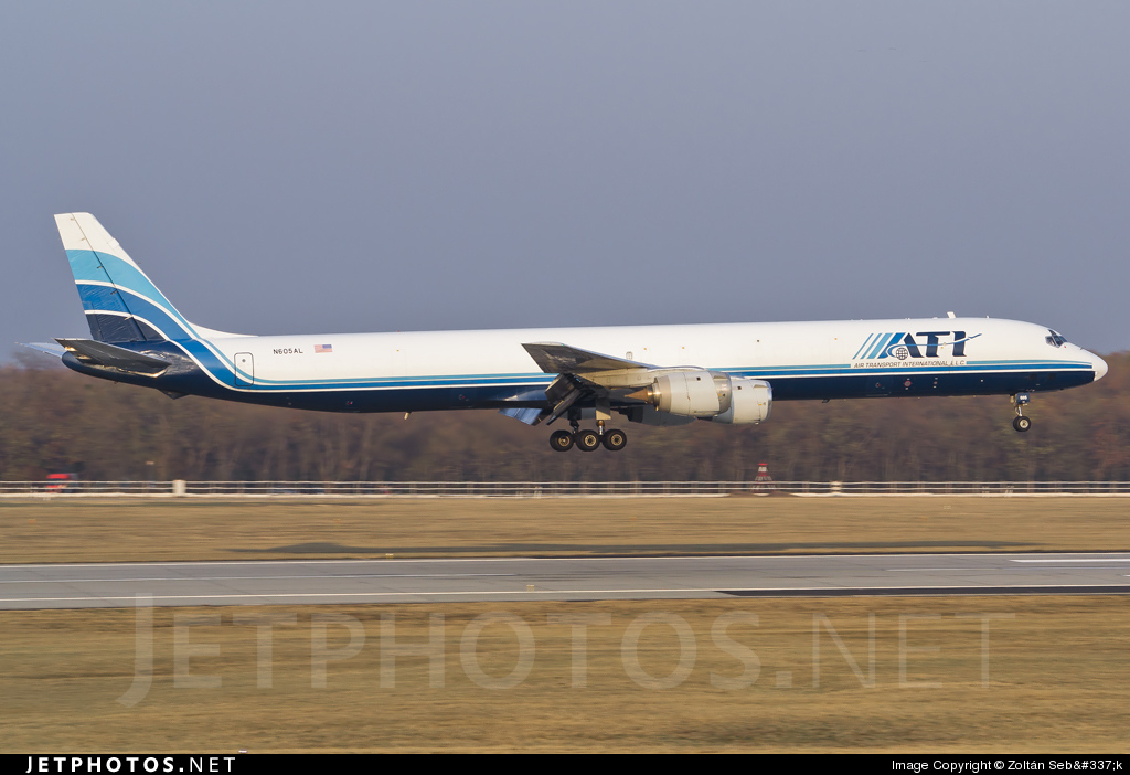 Photo of N605AL Douglas DC-8-73(F) by Zoltan Sebok