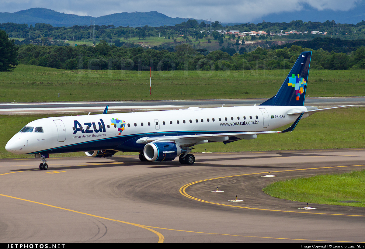 Photo of PR-AXA Embraer 190-200IGW by Leandro Luiz Pilch