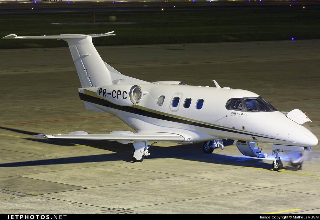 Photo of PR-CPC Embraer 500 Phenom 100 by MatheusMBSM