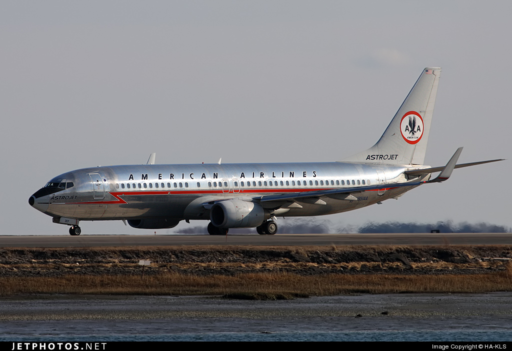 Photo of N951AA Boeing 737-823 by HA-KLS