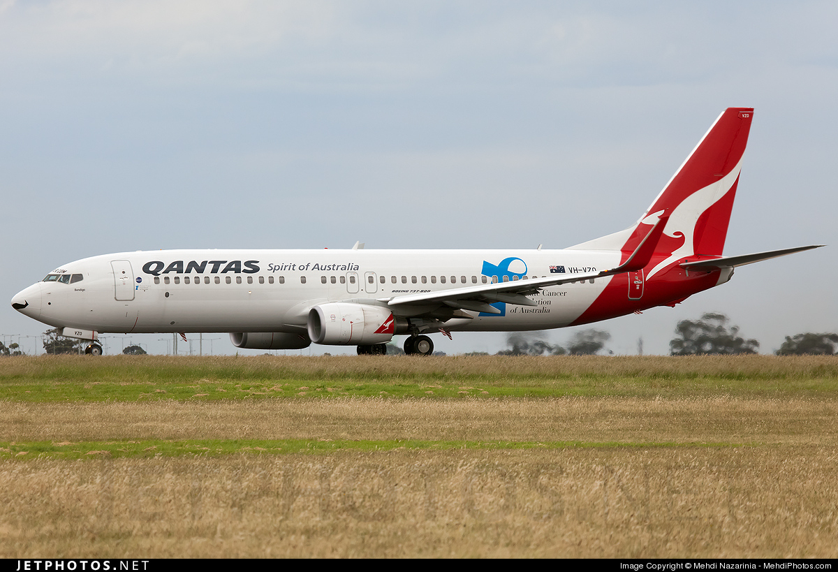 Photo of VH-VZO Boeing 737-838 by Mehdi Nazarinia - MehdiPhotos.com
