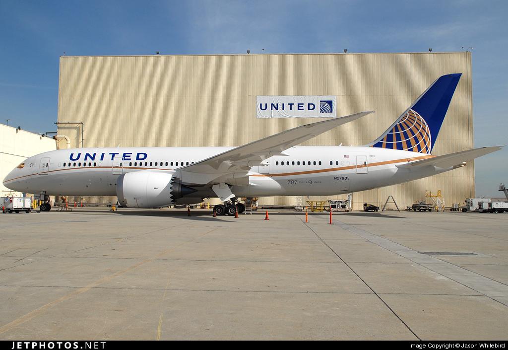 Photo of N27903 Boeing 787-8 Dreamliner by Jason Whitebird