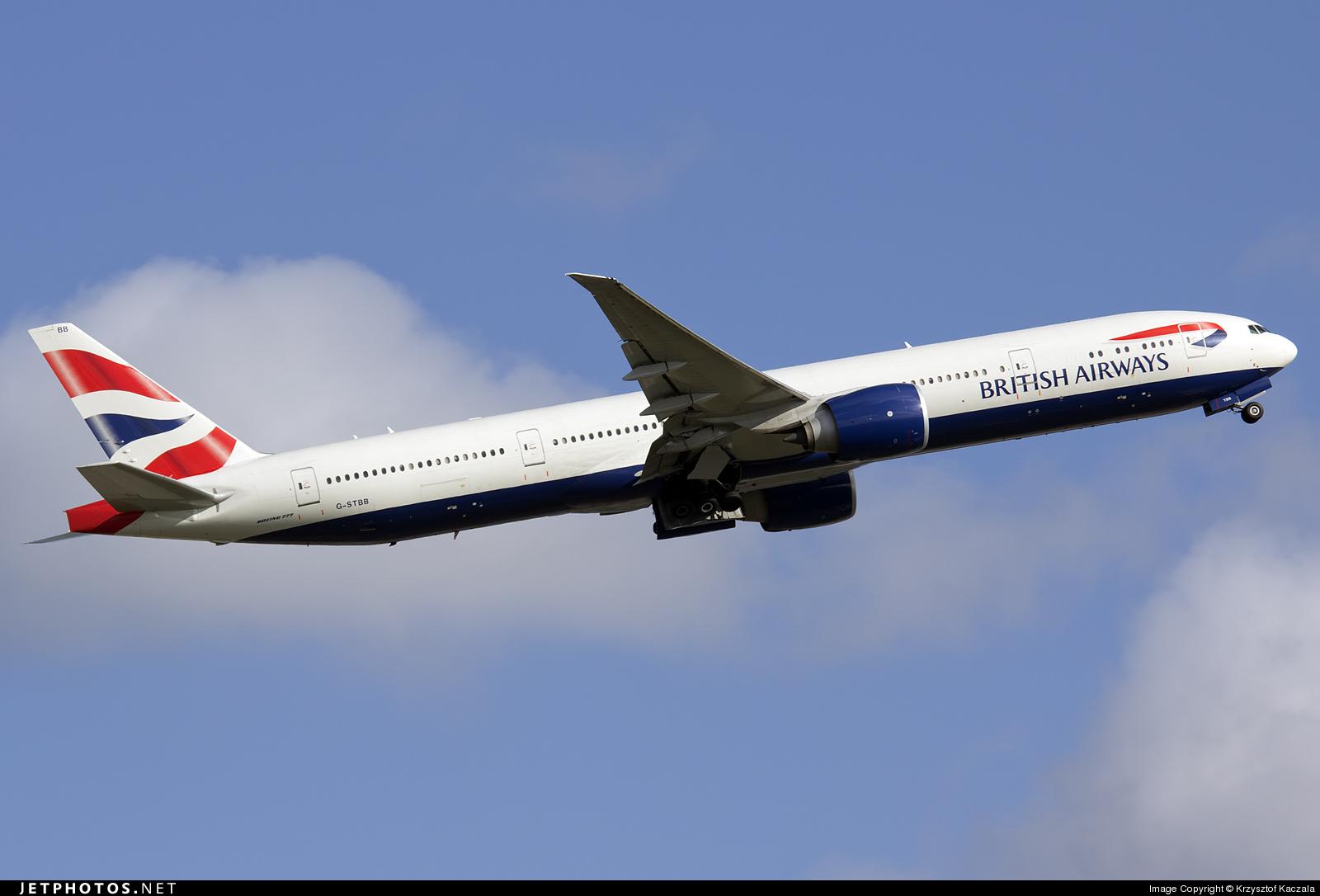 Photo of G-STBB Boeing 777-36NER by Krzysztof Kaczala