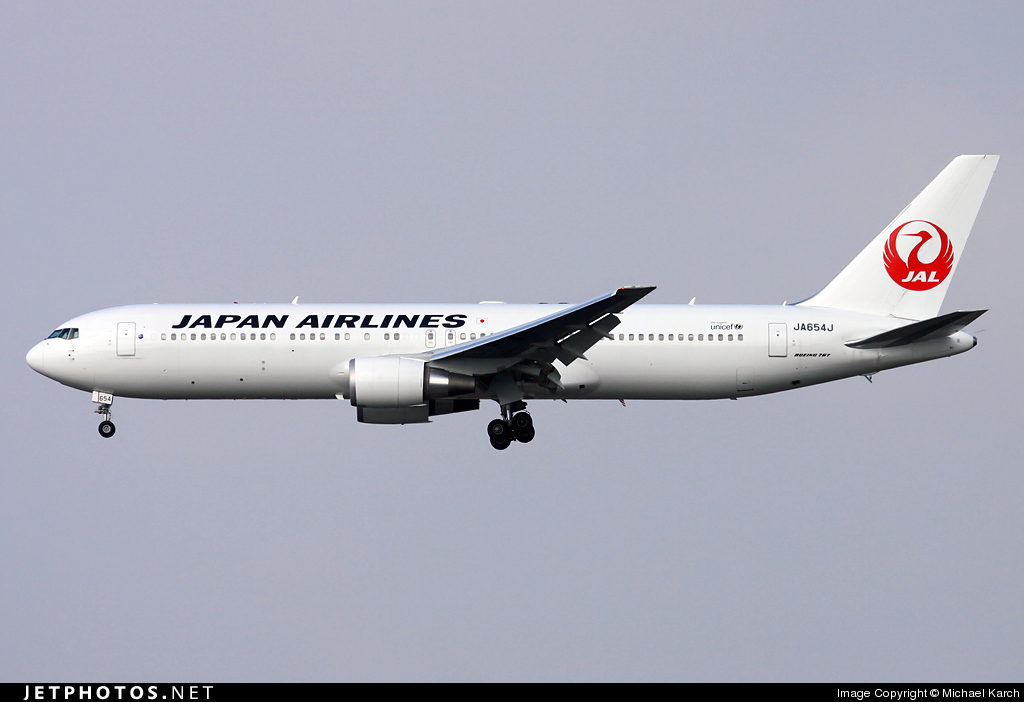 Photo of JA654J Boeing 767-346(ER) by Michael Karch