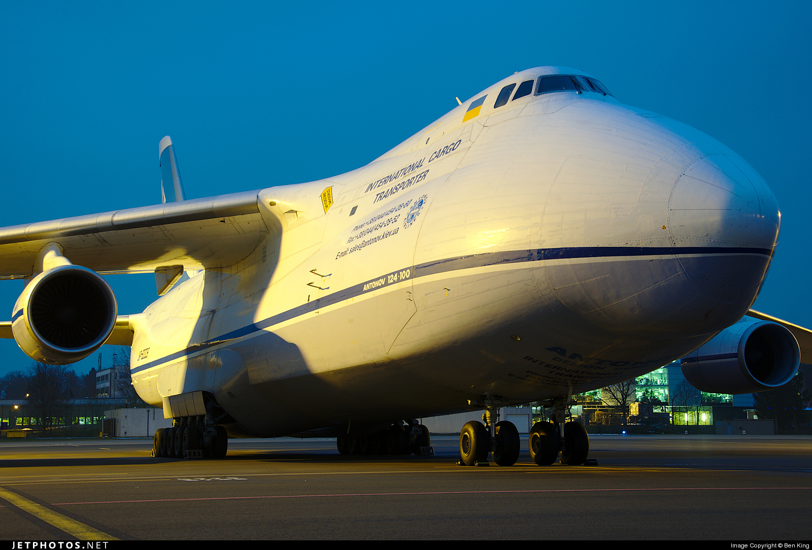 Photo of UR-82029 Antonov An-124-100 Ruslan by Ben King