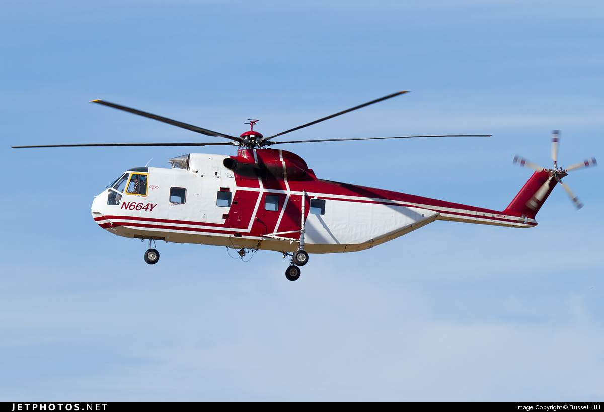 Photo of N664Y Sikorsky S-61R by Russell Hill