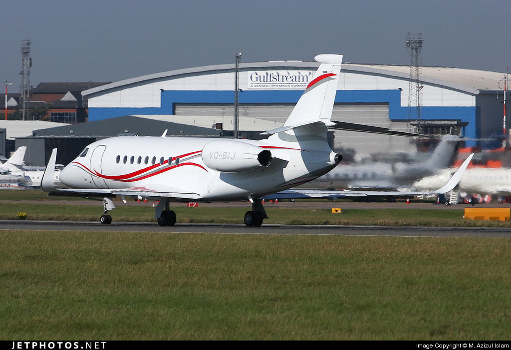 Photo of VQ-BIJ Dassault Falcon 2000LX by M. Azizul Islam