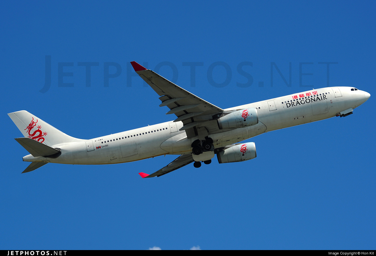Photo of B-HWH Airbus A330-343 by Hon Kit
