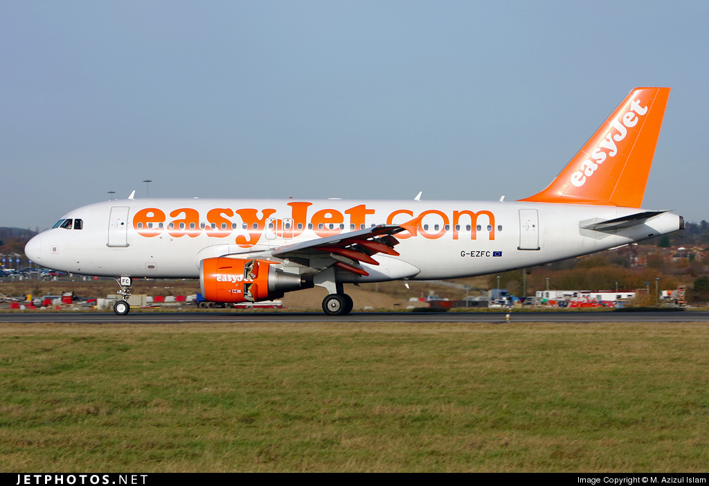 Photo of G-EZFC Airbus A319-111 by M. Azizul Islam