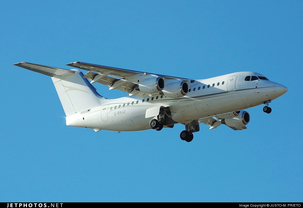 Photo of G-RAJJ British Aerospace BAe 146-200 by Justo-M. Prieto