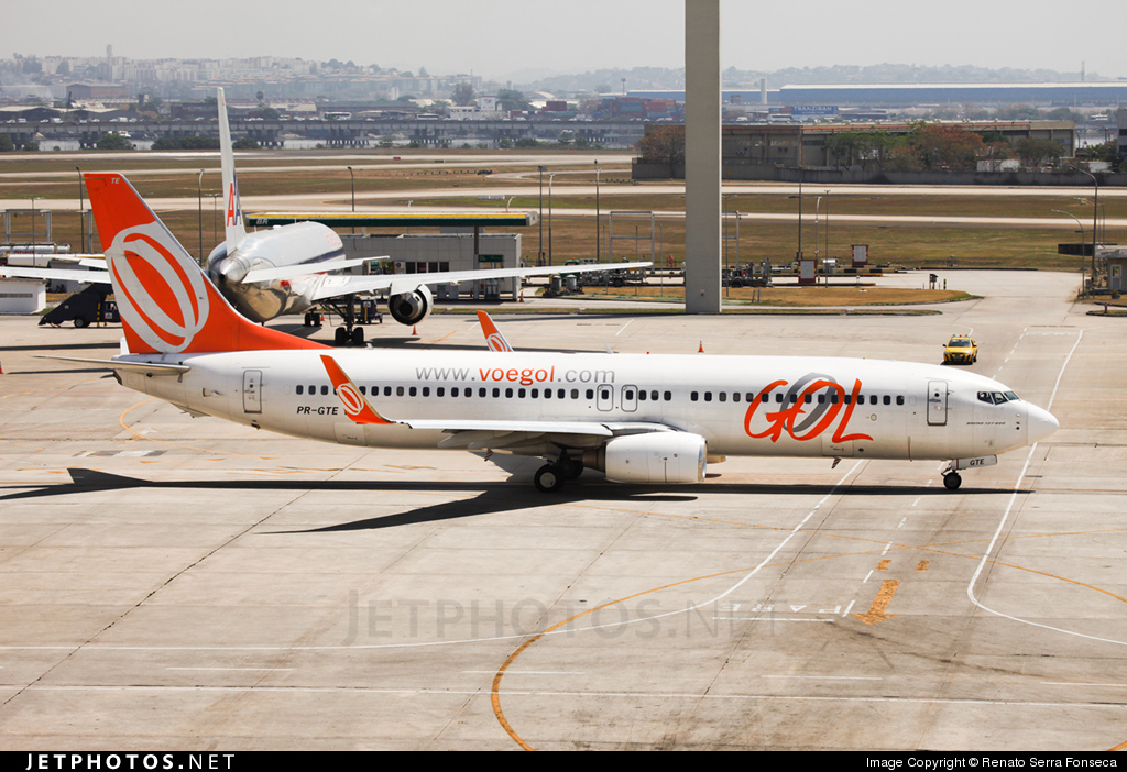 Photo of PR-GTE Boeing 737-8EH by Renato Serra Fonseca - AirTeamImages