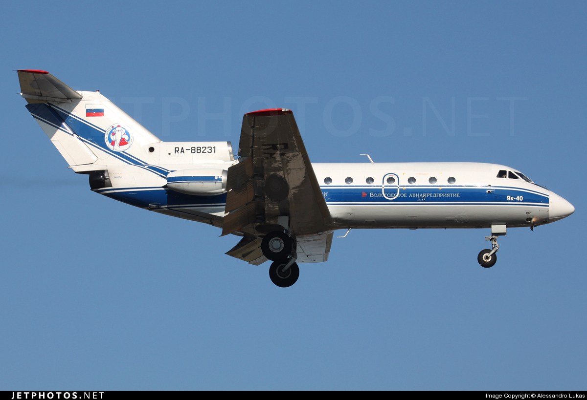 Photo of RA-88231 Yakovlev Yak-40 by Alessandro Lukas