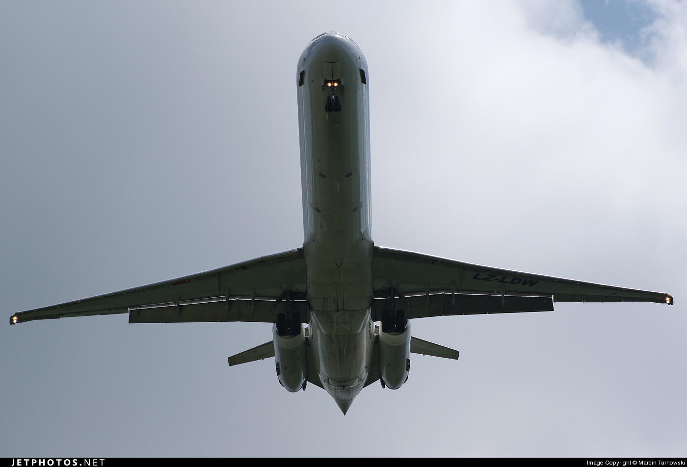 Photo of LZ-LDW McDonnell Douglas MD-82 by Marcin Tarnowski