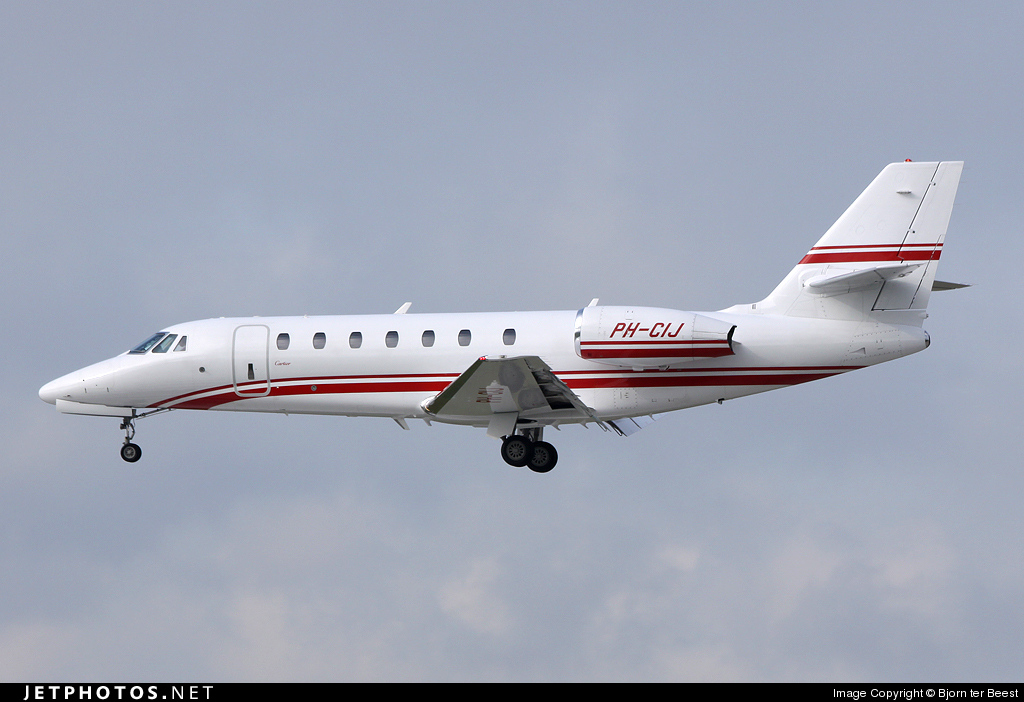 Photo of PH-CIJ Cessna 680 Citation Sovereign by Bjorn ter Beest