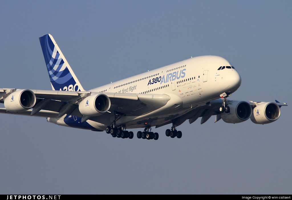 Photo of F-WWDD Airbus A380-861 by wim callaert