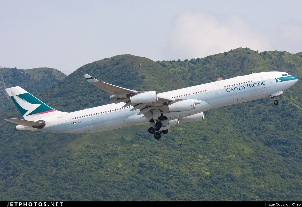 Photo of B-HXE Airbus A340-313X by leo