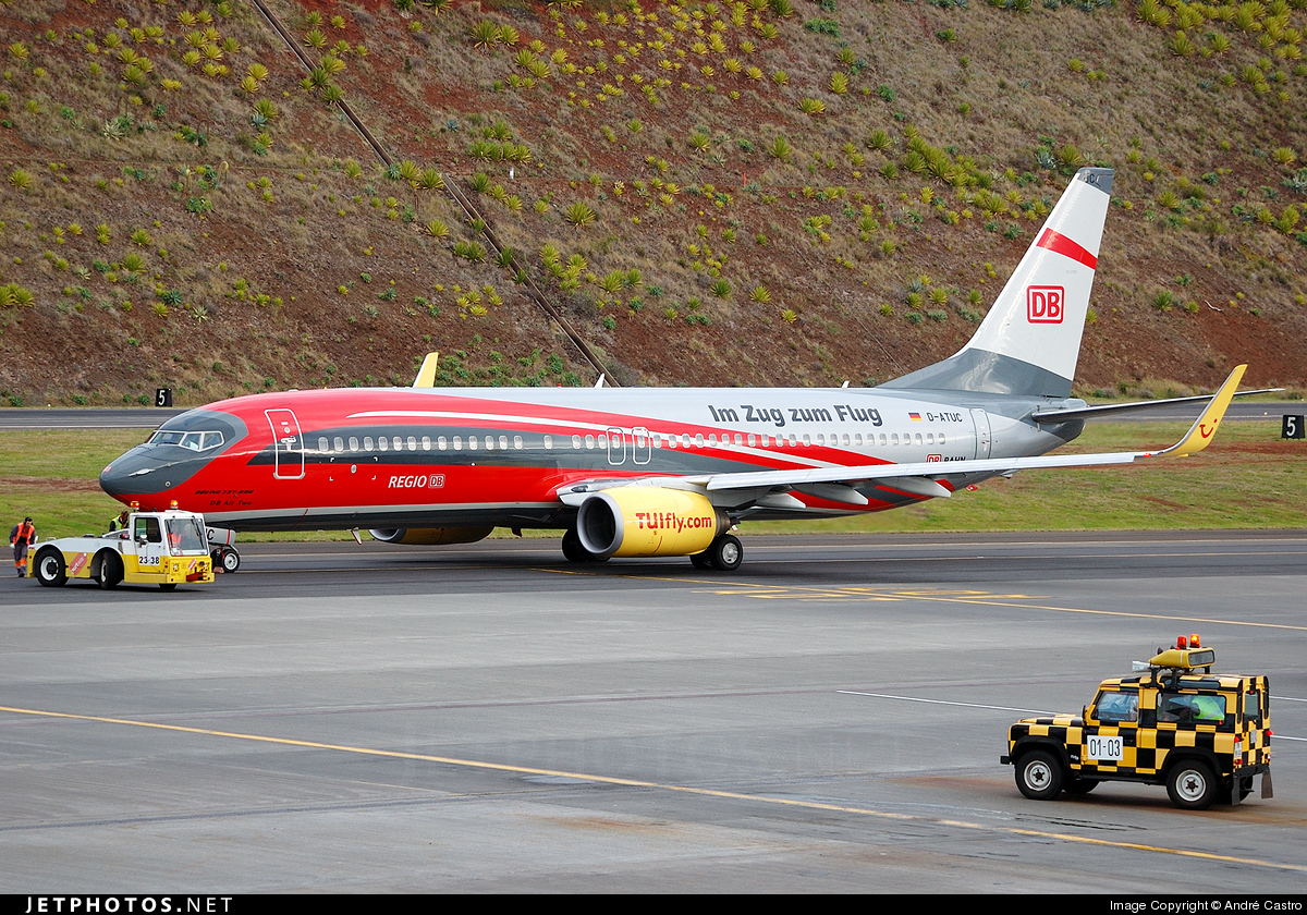 Photo of D-ATUC Boeing 737-8K5 by André Castro