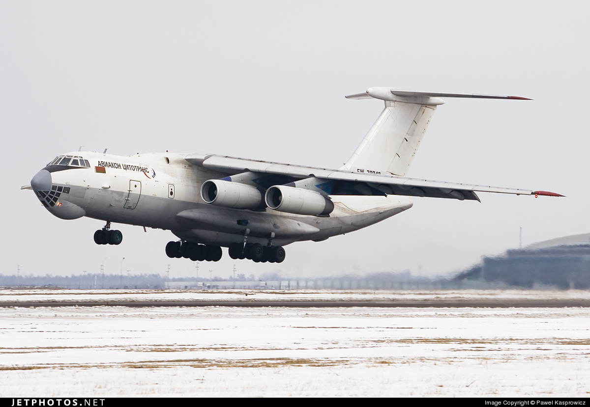 Photo of EW-78843 Ilyushin IL-76TD by Pawel Kasprowicz