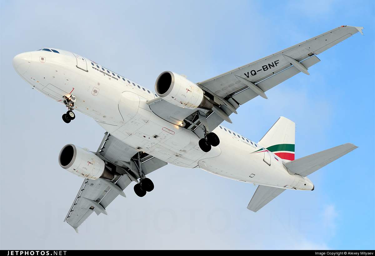 Photo of VQ-BNF Airbus A319-112 by Alexey Mityaev