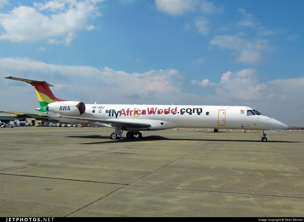 Photo of 9G-AEU Embraer ERJ-145LI by Sean Mendis