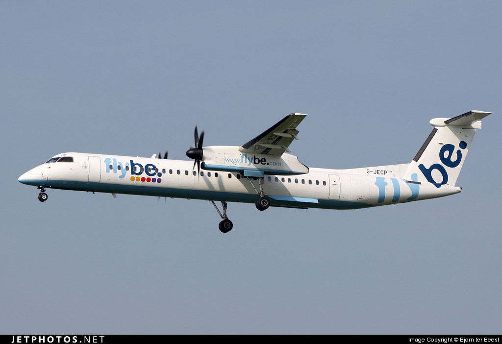 Photo of G-JECP Bombardier Dash 8-Q402 by Bjorn ter Beest