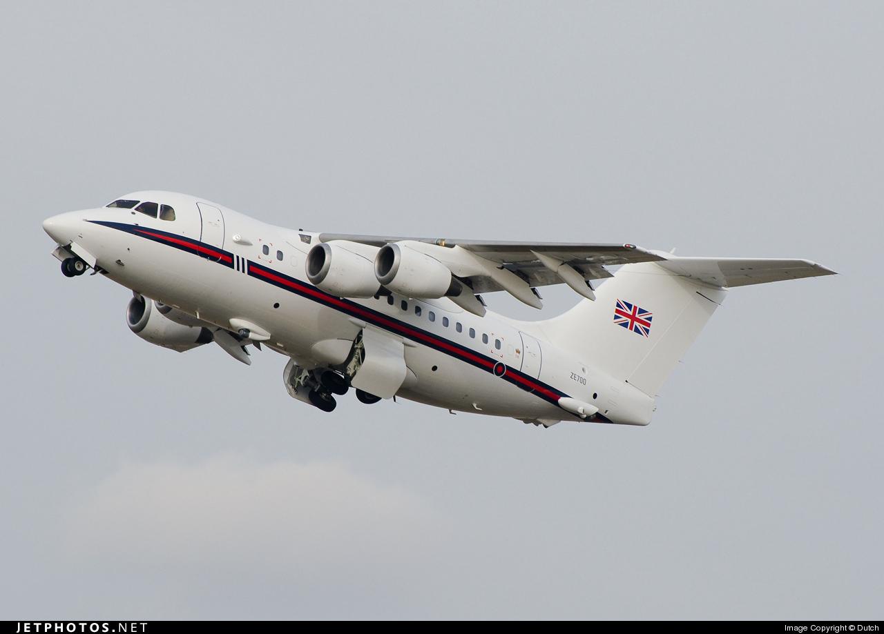 Photo of ZE700 British Aerospace Bae 146 CC.2 by Dutch